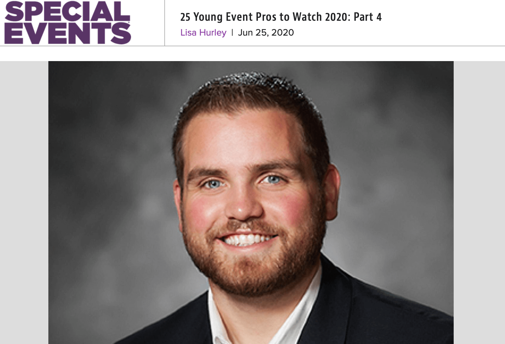 Top 25 Young Event Pros Recognition
